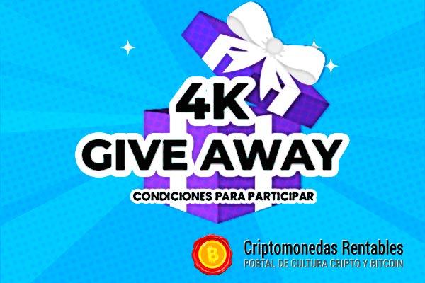 4K Giveaway: 3 Afortunados Ganadores recibirán $10 BUSD cada uno