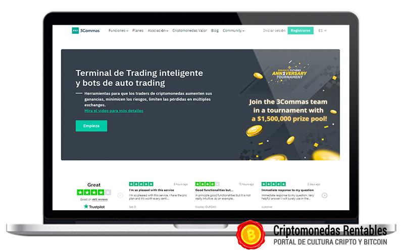 3Commas Opiniones y Review   Plataforma de Bots de Trading en Español 01