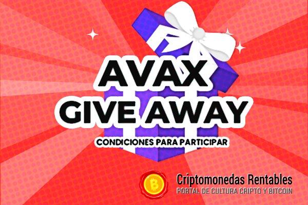 AVAX Giveaway: 1 Afortunado Ganador recibirá $10 en Avalanche (AVAX)