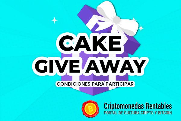 CAKE Giveaway: 1 Afortunado Ganador recibirá $10 en Tokens de PancakeSwap
