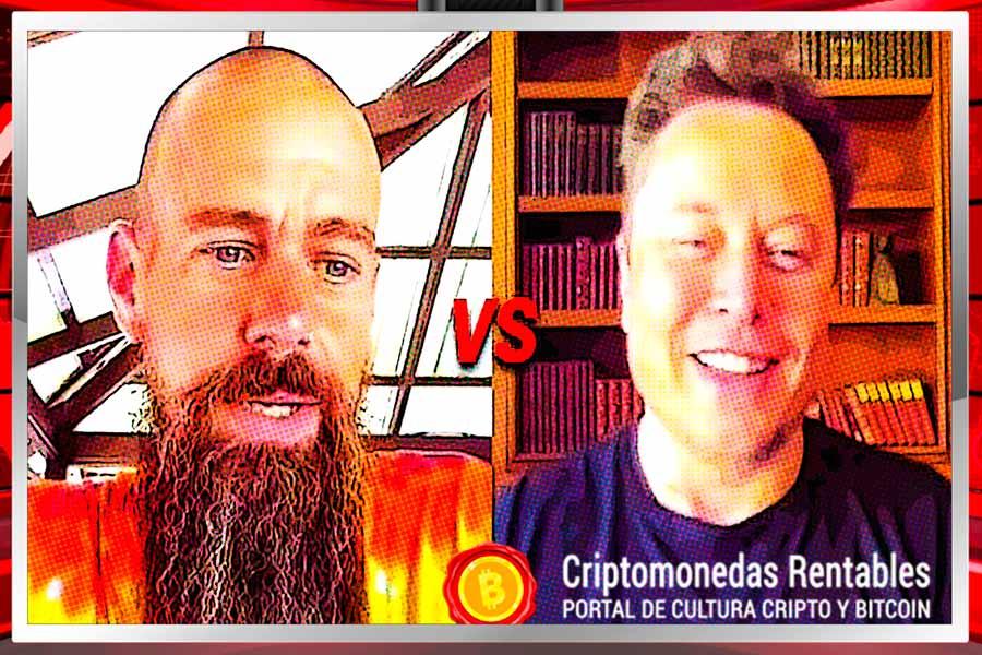 Debate de Influencers: Elon Musk vs Jack Dorsey