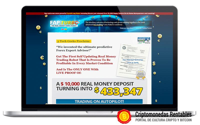 Fap Turbo Review – Forex & Bitcoin Trading en Piloto Automatico 01