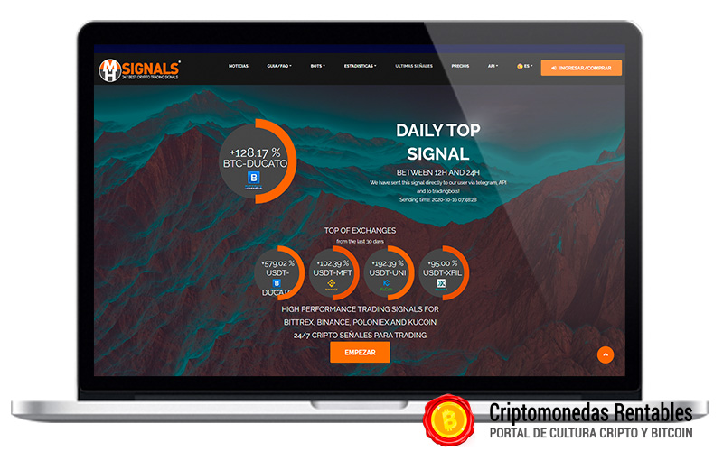 MiningHamster Opiniones y Review | Servicio de señales de trading 01