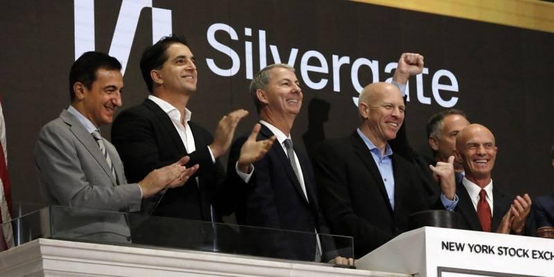 Sorprendente: Así es como le fue a Crypto Bank Silvergate el día 1 de la lista de NYSE