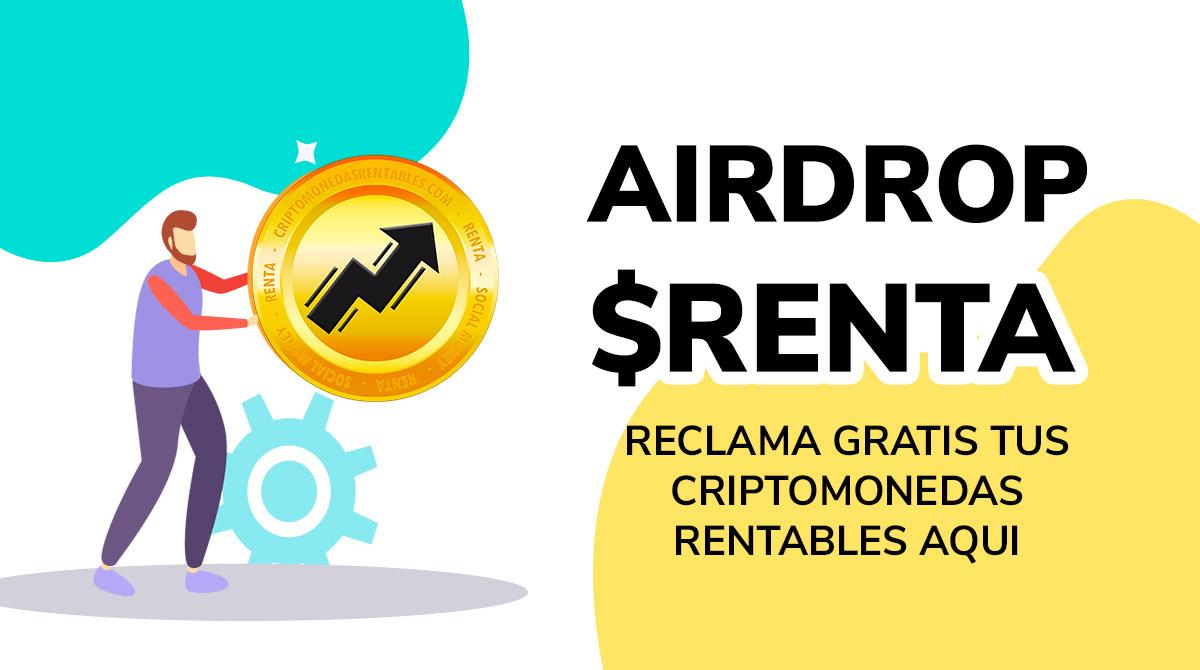 RENTA Airdrop: Reclama tus Criptomonedas Gratis ya! grilla-concurso