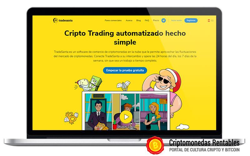 TradeSanta Opiniones y Review   Plataforma de Bots de Trading de Criptomonedas 01