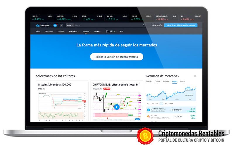TradingView Opiniones y Review en Español   Gráficos y Cotizaciones en Tiempo Real 01
