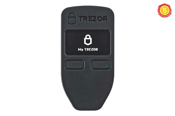 Trezor Hardware Wallet 01